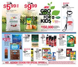 Plants deals in the Ace Hardware weekly ad in Kent WA