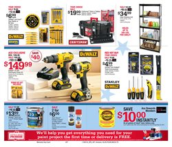 DeWalt deals in the Ace Hardware weekly ad in New York