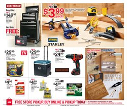 Ace Hardware deals in the New Britain CT weekly ad