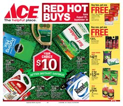 Tools & Hardware deals in the Ace Hardware weekly ad in Acworth GA