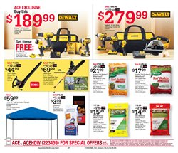 Saw deals in the Ace Hardware weekly ad in Troy NY
