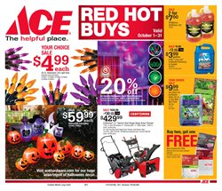 Ace Hardware deals in the Charlottesville VA weekly ad