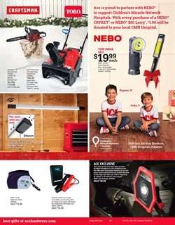 Saw deals in the Ace Hardware weekly ad in Tucson AZ