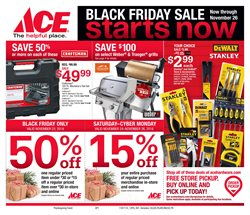 Tools & Hardware deals in the Ace Hardware weekly ad in Knoxville TN
