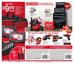 Grinder deals in the Ace Hardware weekly ad in New York