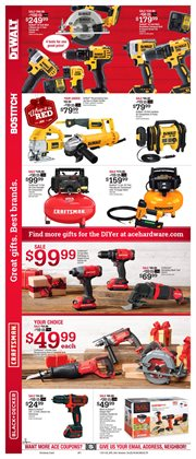 Saw deals in the Ace Hardware weekly ad in Oklahoma City OK