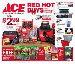 Tools & Hardware deals in the Ace Hardware weekly ad in Wilmington DE