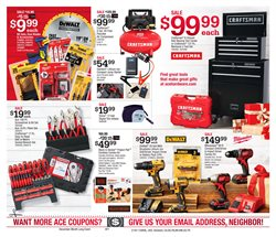 Drill deals in the Ace Hardware weekly ad in New York