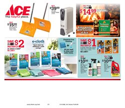 Heater deals in the Ace Hardware weekly ad in New York