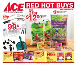 Bulbs deals in the Ace Hardware weekly ad in New York