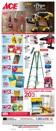 DIY deals in the Ace Hardware weekly ad in New York