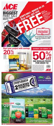 Ace Hardware deals in the San Francisco CA weekly ad