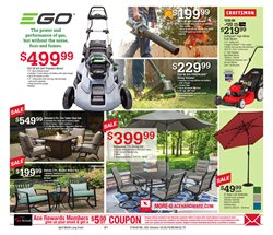 Tile deals in the Ace Hardware weekly ad in Warren OH