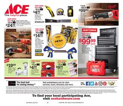 Saw deals in the Ace Hardware weekly ad in Stone Mountain GA