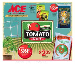 Tools & Hardware deals in the Ace Hardware weekly ad in Lodi CA