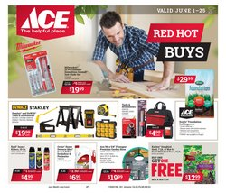 Tools & Hardware deals in the Ace Hardware weekly ad in North Charleston SC