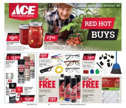 Tools & Hardware deals in the Ace Hardware weekly ad in Seattle WA