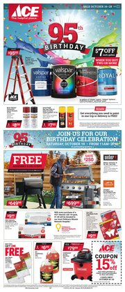 Tools & Hardware deals in the Ace Hardware weekly ad in Chicago IL