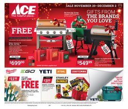 Tools & Hardware deals in the Ace Hardware weekly ad in Youngstown OH