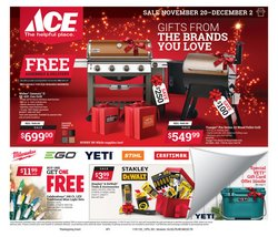 Ace Hardware deals in the Chicago IL weekly ad