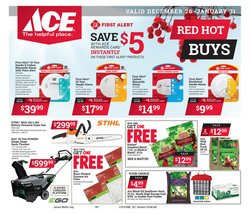 Tools & Hardware deals in the Ace Hardware weekly ad in Chicago Ridge IL