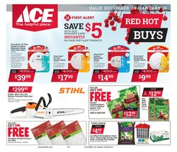 Tools & Hardware deals in the Ace Hardware weekly ad in Maryville TN