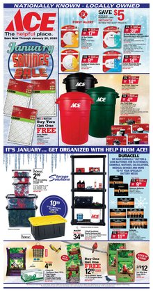 Tools & Hardware deals in the Ace Hardware weekly ad in Gary IN