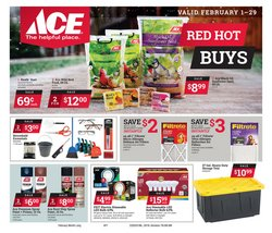 Tools & Hardware offers in the Ace Hardware catalogue in Medina OH ( 6 days left )