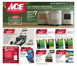 Tools & Hardware offers in the Ace Hardware catalogue in Wheaton IL ( 3 days left )