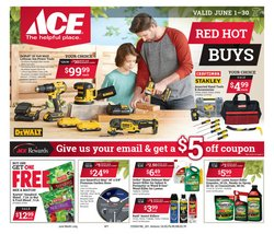 Tools & Hardware offers in the Ace Hardware catalogue in Gainesville GA ( 25 days left )