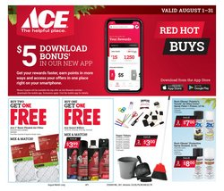 Tools & Hardware offers in the Ace Hardware catalogue in Maryville TN ( 22 days left )