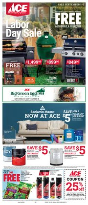 Ace Hardware catalogue in New York ( Expired )