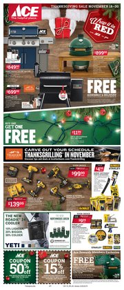 Tools & Hardware offers in the Ace Hardware catalogue in Norcross GA ( Expires tomorrow )