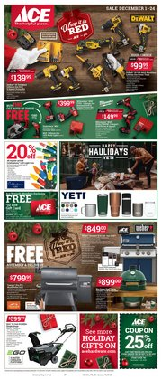 Tools & Hardware offers in the Ace Hardware catalogue in New York ( 3 days ago )