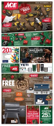 Ace Hardware catalogue ( Published today )