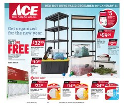 Tools & Hardware offers in the Ace Hardware catalogue in Buffalo NY ( 6 days left )