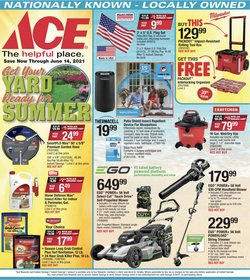 Tools & Hardware deals in the Ace Hardware catalog ( 2 days left)