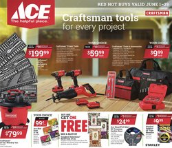 Tools & Hardware deals in the Ace Hardware catalog ( 17 days left)
