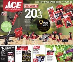 Ace Hardware catalog ( 7 days left)
