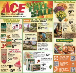 Tools & Hardware deals in the Ace Hardware catalog ( 6 days left)