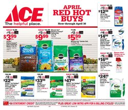 Tools & Hardware deals in the Ace Hardware weekly ad in Los Angeles CA