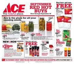 Ace Hardware deals in the Miami FL weekly ad