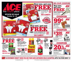 Ace Hardware deals in the Sandwich MA weekly ad