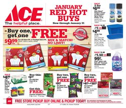 Halloween deals in the Ace Hardware weekly ad in New York