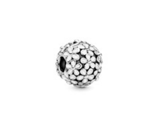 White Daisy Flower Charm - FINAL SALE deals at $50