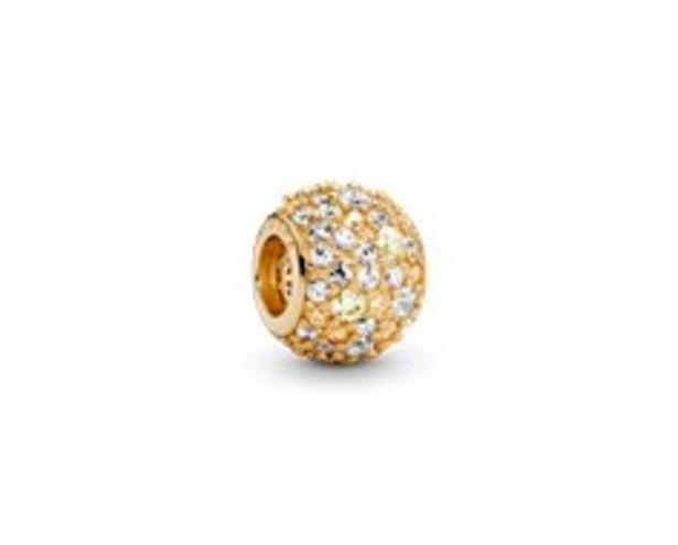 Golden Pavé Charm - FINAL SALE deals at $100