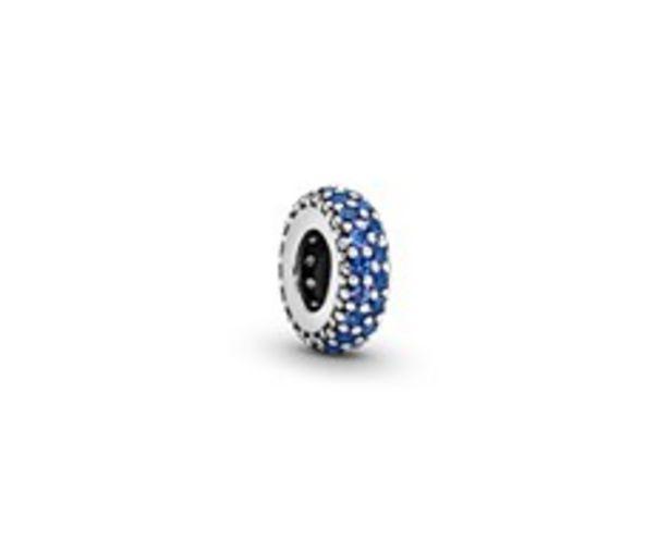 Blue Sparkle Spacer Charm deals at $35