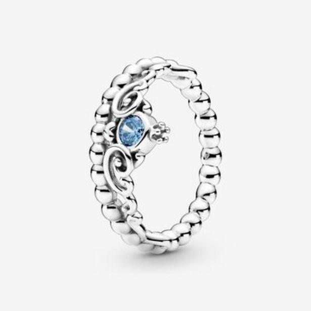 Disney Cinderella Blue Tiara Ring offer at $65