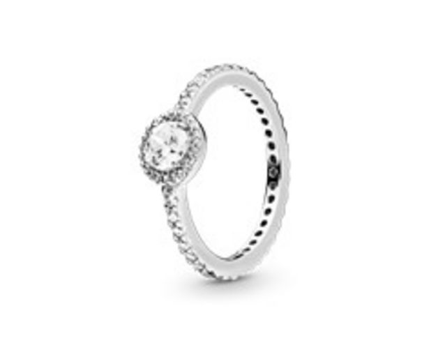 Classic Sparkle Halo Ring offer at $75