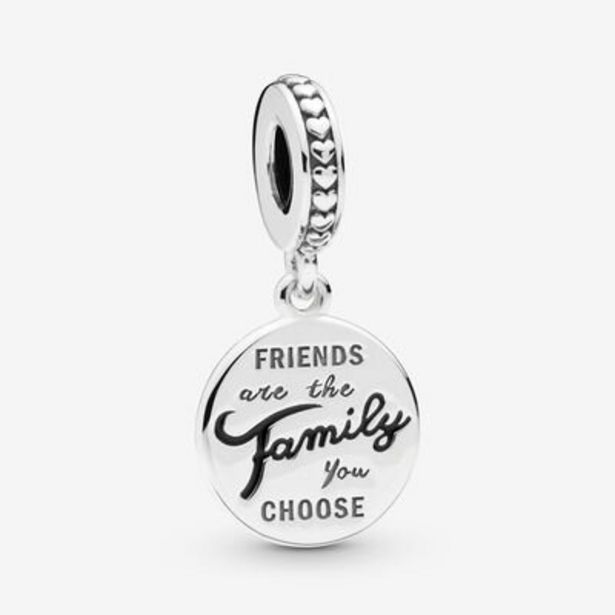 Friends Are Family Dangle Charm offer at $40